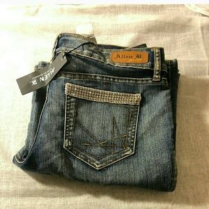 Allen B Blinged out jeans